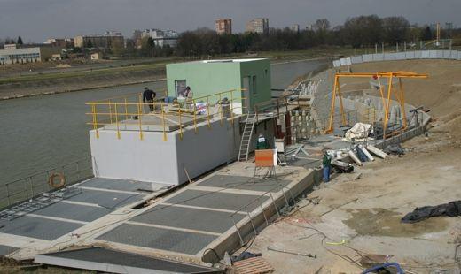 Próbny rozruch elektrowni wodnej w drugiej połowie maja - Aktualności Rzeszów
