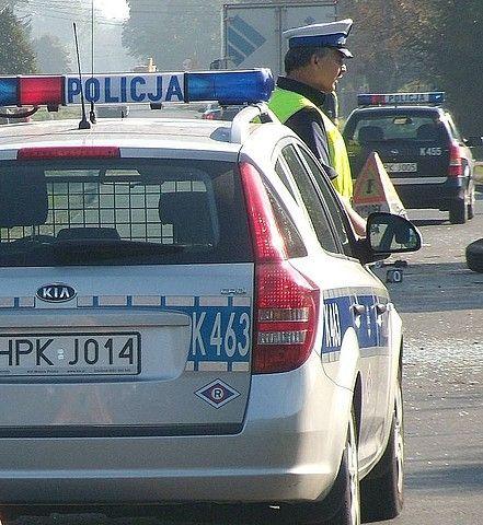 Tir blokuje drogę nr 4 w Jarosławiu - Aktualności Podkarpacie