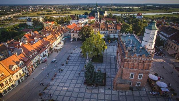 Pociąg Rzeszów - Sandomierz - art. sposn.