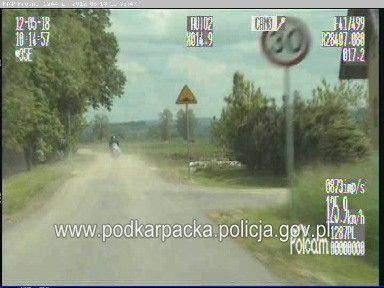 Policyjny pościg za motocyklistą. Jechał ponad 160 km/h - Aktualności Podkarpacie