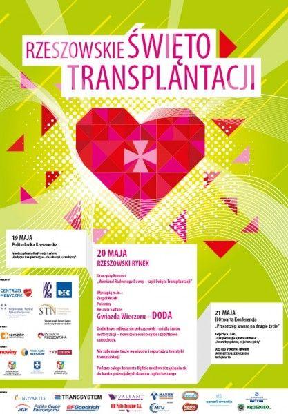 Rzeszowskie Święto Transplantacji - Aktualności Rzeszów