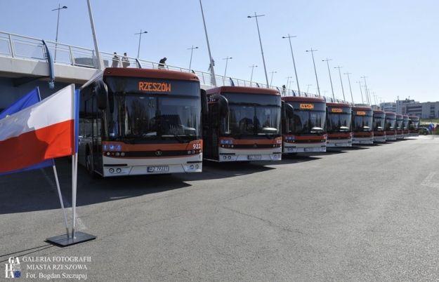 Do Rzeszowa przyjechało 10 nowych autobusów. Mowa o 12-metrowych Autosanach Sancity - Aktualności Rzeszów