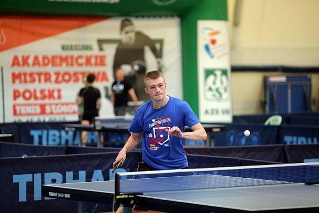 Złoto dla tenisistów stołowych z Rzeszowa. Politechnika Rzeszowska triumfowała w kategorii mężczyzn - Aktualności Rzeszów