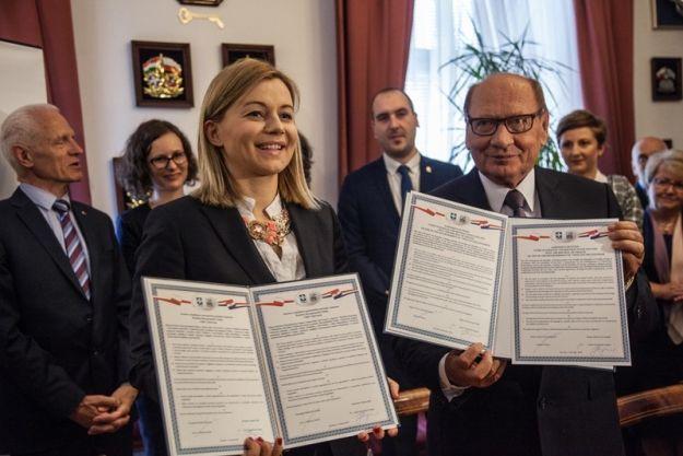 Chorwackie miasto Split zostało oficjalnym partnerem Rzeszowa. We wtorek podpisano umowę o współpracy - Aktualności Rzeszów