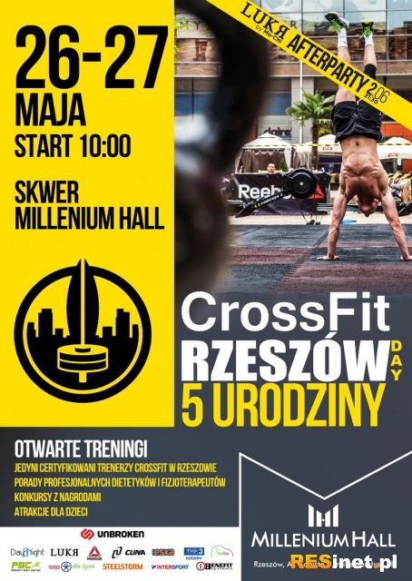 CrossFit Rzeszów Days w Millenium Hall - art. sposn.