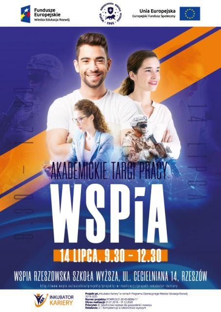 WSPiA zaprasza na Akademickie Targi Pracy - art. sposn.