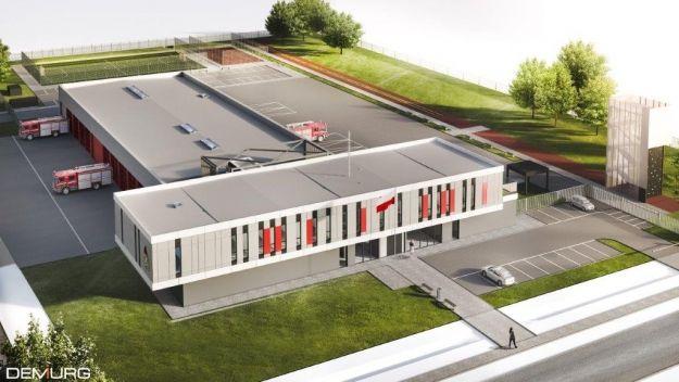 Podpisano umowę na budowę nowej strażnicy. Znajdzie się na terenie Dworzyska - Aktualności Rzeszów