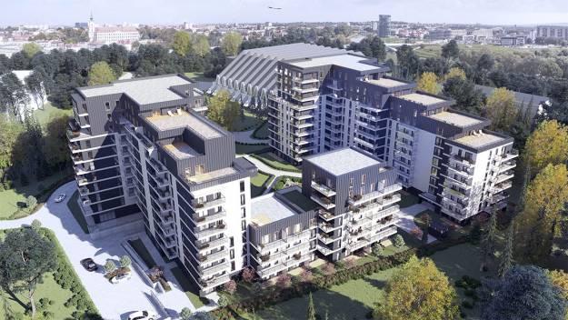 Przy hali Podpromie powstaje Wikana Square. Stworzą 275 mieszkań do 2021 roku [WIZUALIZACJE] - Aktualności Rzeszów