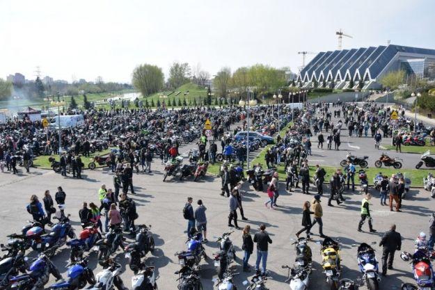 Ponad 2 tys. motocyklistów przywitało wiosnę w Rzeszowie - Aktualności Rzeszów