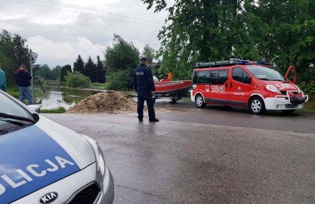 Utrudnienia na drogach województwa w związku z ulewami - Aktualności Podkarpacie