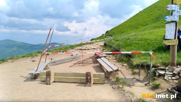 Pod szczytem Tarnicy znaleziono niewybuch. Do czasu przyjazdu saperów zamknięto szlaki - Aktualności Podkarpacie
