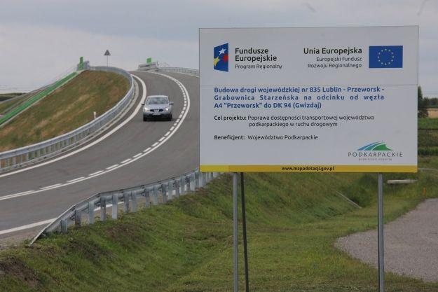 Oddano na użytku nowy łącznik drogowy do autostrady - Aktualności Podkarpacie