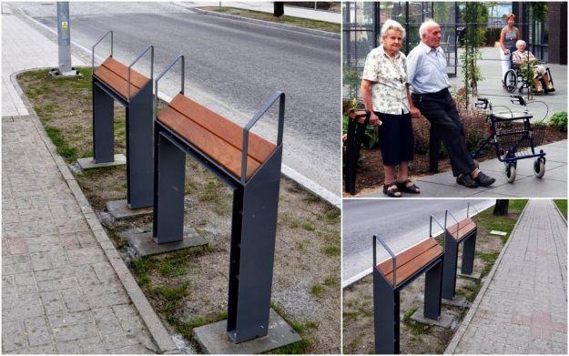 Miasto chce zamontować przy przystankach tzw. przysiadki dla osób starszych - Aktualności Rzeszów