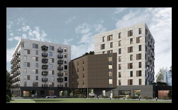 Kolejna inwestycja w rejonie hali Podpromie. Powstanie 113 lokali mieszkalnych [WIZUALIZACJE] - Aktualności Rzeszów