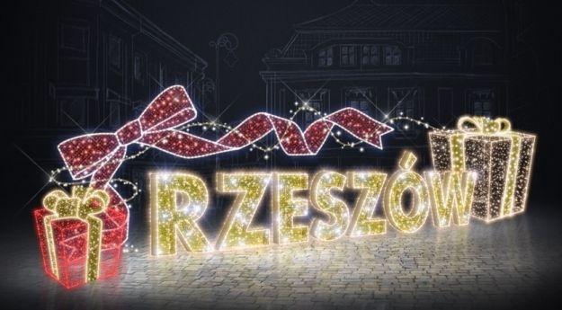 Jak rozbłyśnie Rzeszów na święta? W tym roku zobaczymy, m.in. św. Mikołaja na motorze i autobus z rogami - Aktualności Rzeszów