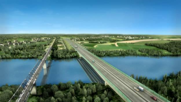 Jest zgoda na kolejny odcinek S19. Powstanie most na Sanie - Aktualności Podkarpacie