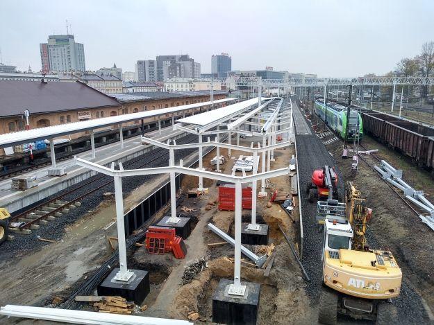 Przebudowa dworca PKP. Prace są mocno zaawansowane [FOTO] - Aktualności Rzeszów