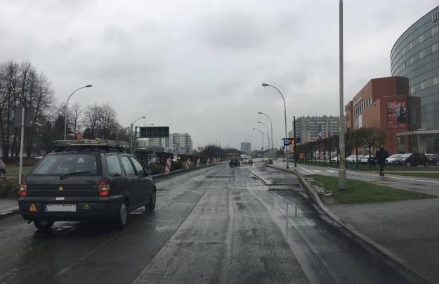 Utrudnienia na ul. Kopisto. Trwa wymiana nawierzchni - Aktualności Rzeszów