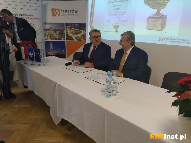 Umowa z Autosanem podpisana. Do Rzeszowa przyjedzie 60 nowych autobusów - Aktualności Rzeszów