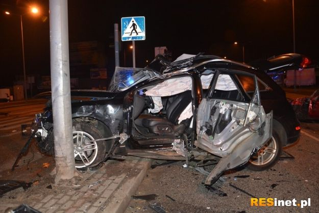 Tragiczny wypadek na obwodnicy. Nie żyje 39-letni kierowca - Aktualności Podkarpacie
