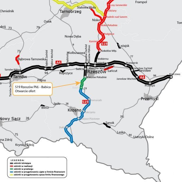 Chińczycy zainteresowani budową drogi S19 z Rzeszowa do Babicy. Złożyli ofertę na 1,1 mld zł - Aktualności Rzeszów