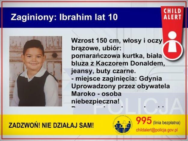 """Uruchomiono """"Child Alert"""". Zaginął 10-letni Ibrahim - Aktualności Rzeszów"""