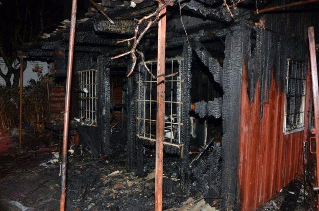 Pożar w Rzeszowie. W zgliszczach spalonej altanki znaleziono zwęglone ciało - Aktualności Rzeszów