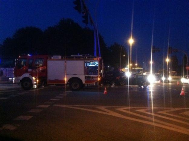 Wypadek obok Stadionu Miejskiego - Aktualności Rzeszów