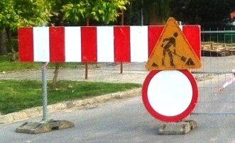 Zamknięty dla ruchu odcinek ul. Jałowego - Aktualności Rzeszów