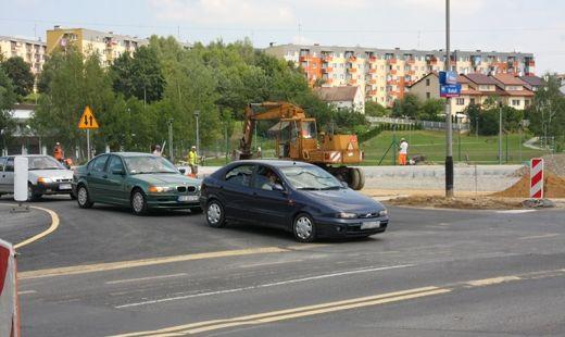 Budowa ronda trwa - Aktualności Rzeszów