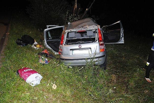 Stracił panowanie nad kierownicą i uderzył w drzewo - Aktualności Podkarpacie