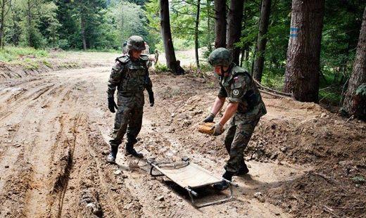 Na żółtym szlaku znaleziono miny - Aktualności Podkarpacie