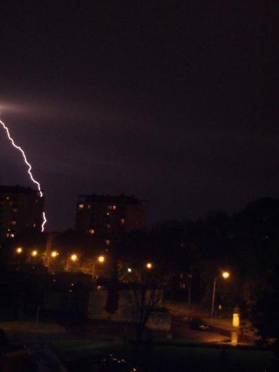 Nocne burze na Podkarpaciu - Aktualności Podkarpacie