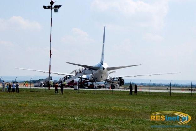 Awantura na pokładzie samolotu - Aktualności Rzeszów