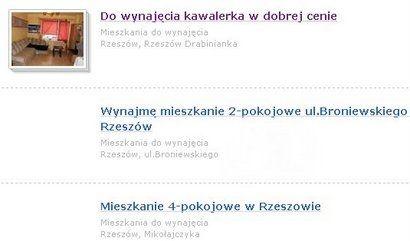 Studenci szukają mieszkań do wynajęcia  - Aktualności Rzeszów