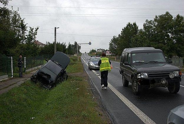 Wypadek w Hadykówce. 1 ranna - Aktualności Podkarpacie