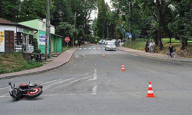 Śmiertelny wypadek motocyklisty - Aktualności Podkarpacie