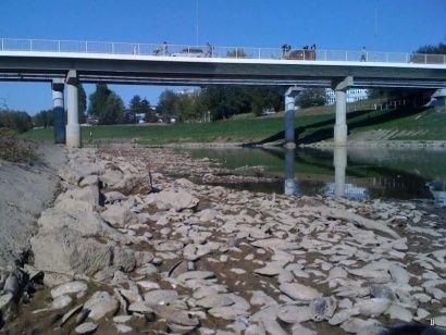 Ubywa wody w rzekach - Aktualności Podkarpacie