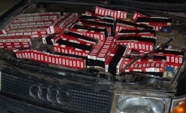 Udaremniony przemyt papierosów - Aktualności Podkarpacie