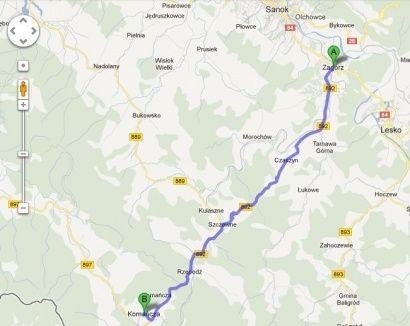 Wkrótce rusza przebudowa drogi Zagórz - Komańcza  - Aktualności Podkarpacie