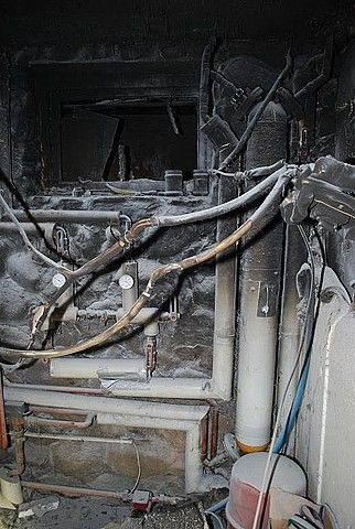 Pożar w schronisku w Bieszczadach - Aktualności Podkarpacie