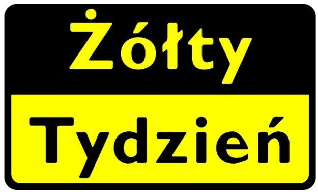 """Rusza ogólnopolska akcja """"Żółty Tydzień"""" - Aktualności z Kraju"""