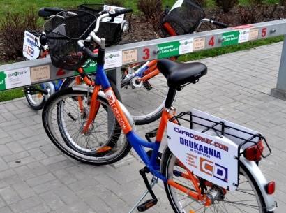 Wandale niszczą miejskie rowery  - Aktualności Rzeszów