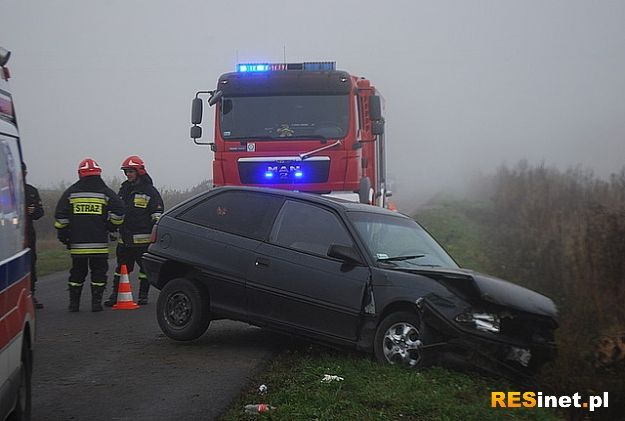 Śmiertelny wypadek na trasie Szczutków - Opaka - Aktualności Podkarpacie