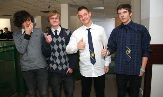 Gimnazjaliści przeszli próbny egzamin - Aktualności Rzeszów