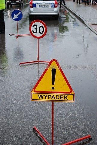 Zderzenie osobówki z ciężarówką na DK-4 w Jarosławiu - Aktualności Podkarpacie