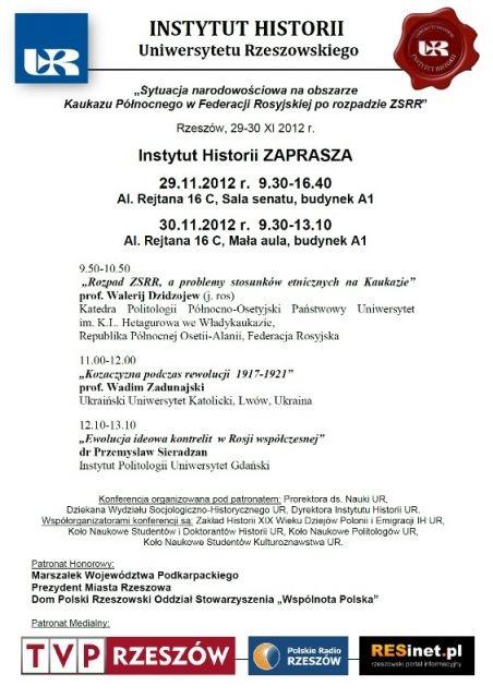 Międzynarodowa konferencja na UR - Aktualności Rzeszów