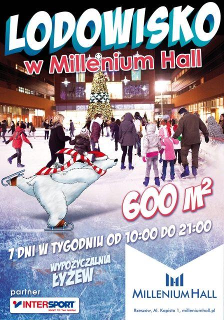 Lodowisko w Millenium Hall jeszcze większe - Aktualności Rzeszów