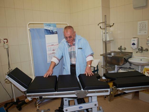Nowy stół usprawni badanie małego pacjenta - Aktualności Podkarpacie