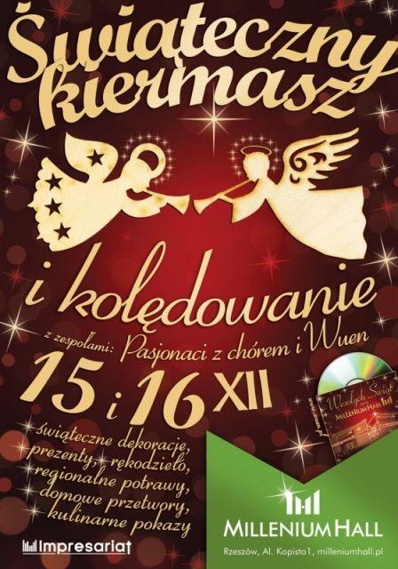 Świąteczny Kiermasz w Millenium Hall - Aktualności Rzeszów
